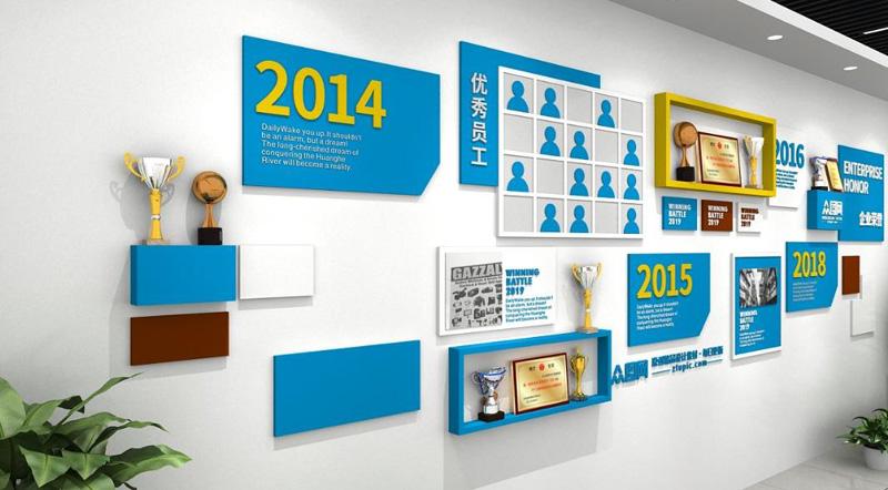 企业文化墙设计制作报价