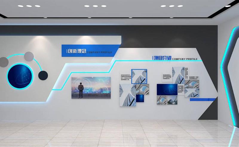 郑州展厅展馆文化墙设计打包价