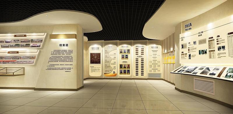 展厅展馆文化墙设计制作公司